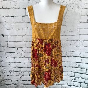 Out from Under Crocheted Baby Doll Sundress Size M
